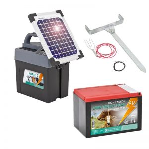 gard electric vaci panou solar