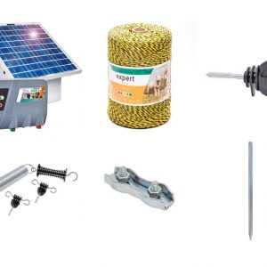 Pachet Gard Electric Mistreti Sirus 8 Panou Solar