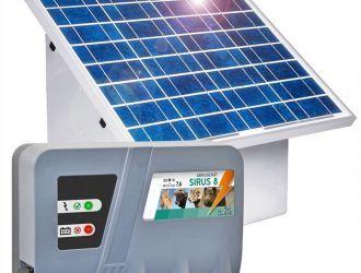 Gard electric cu panou solar | Garduri Electrice Animale