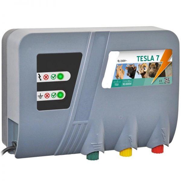 garduri electrice; gard electric tesla 5j