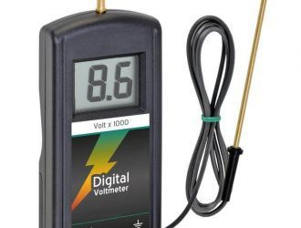Voltmetru digital pentru gard electric | Garduri Electrice Animale