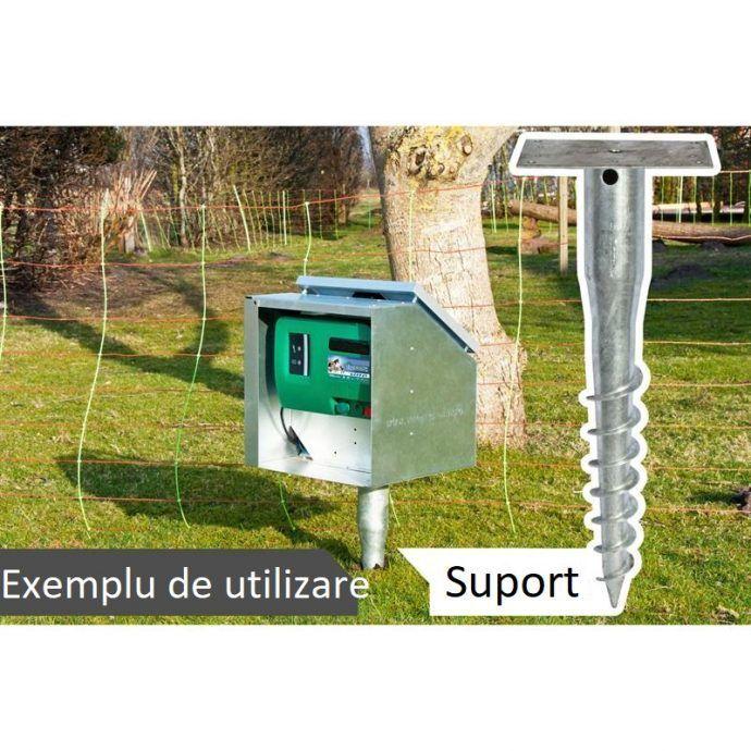 Picior suport generator gard electric